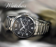 Watches At Adams Jewelers Citizen and Seiko Brands, Battery Replacement, Repairs